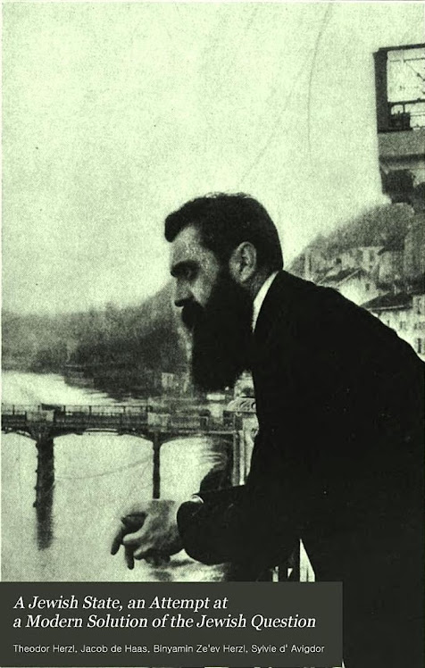 A Jewish state: an attempt at a modern solution of the Jewish question By Theodor Herzl