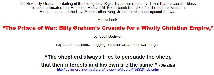 billy graham crusade. Billy Graham#39;s Crusade for a