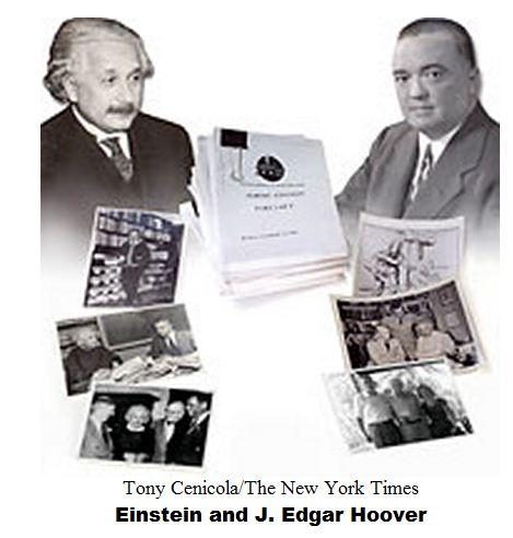 Einstein was a victim of Edgar Hoover's FBI