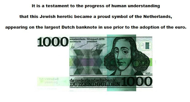 this Jewish heretic became a proud symbol of the Netherlands