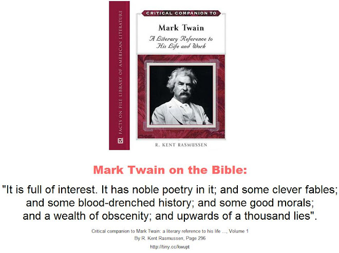 a criticisms of mark twain