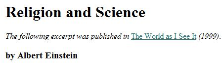 Religion and Science  - Stephen Gould