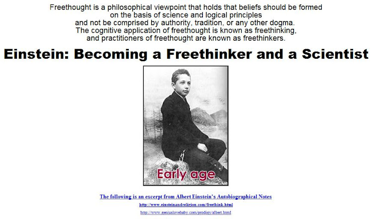 Becoming a Freethinker and a Scientist