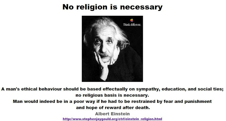 Einstein: no religious basis is necessary