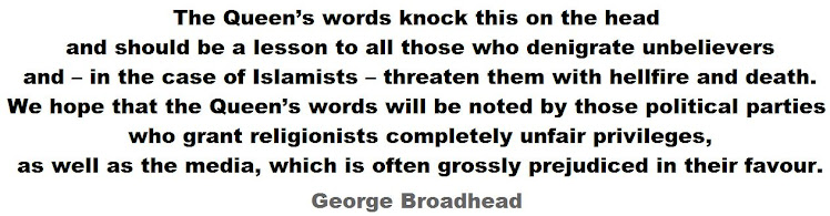 "George Broadhead - ""The Queen's words knock this on the head"""