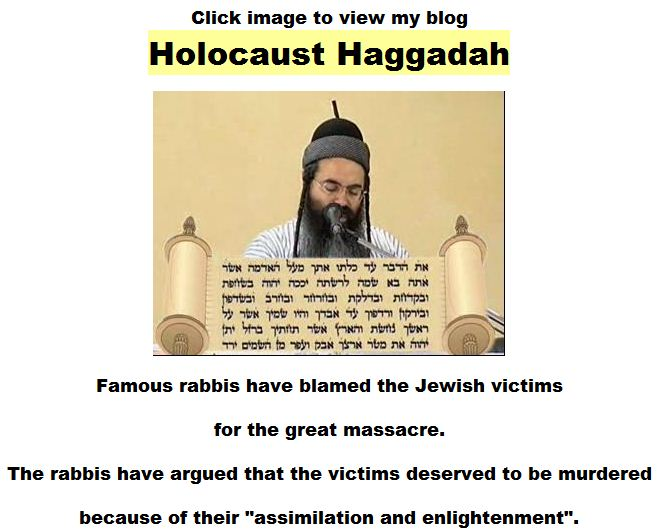Click image to view Holocaust Haggadah