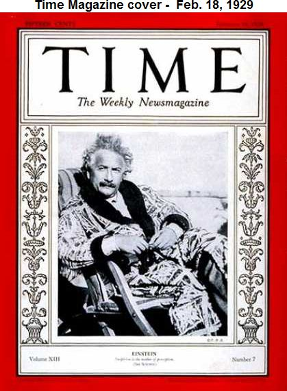Time Magazine cover -  Feb. 18, 1929