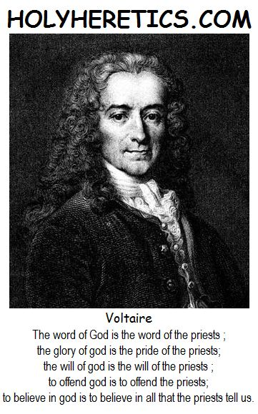Voltaire the heretic