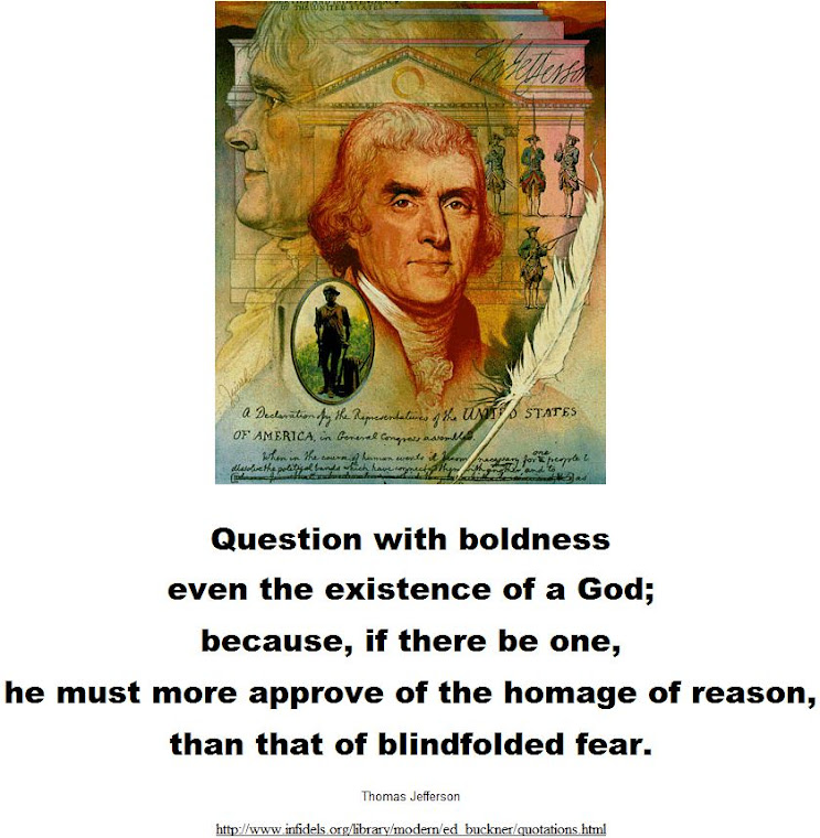 Question with boldness.