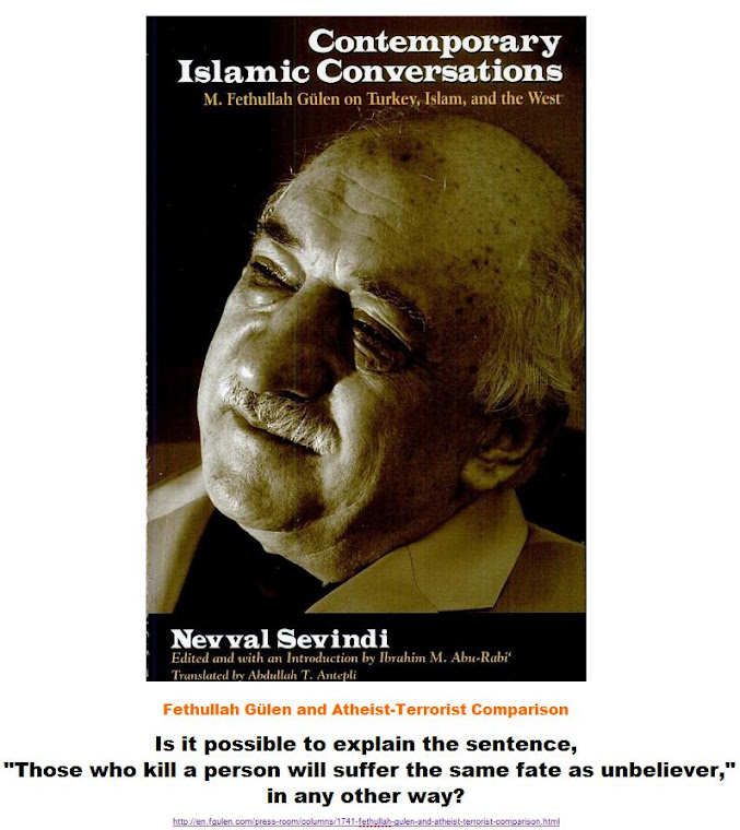 Fethullah Gülen and Atheist-Terrorist Comparison.