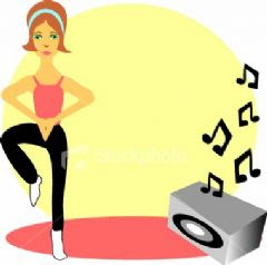 Music makes exercise more effective