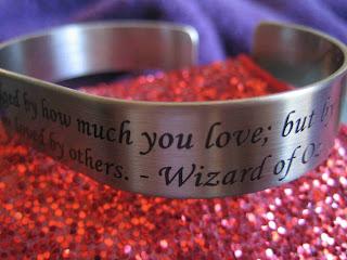 bracelet with quote