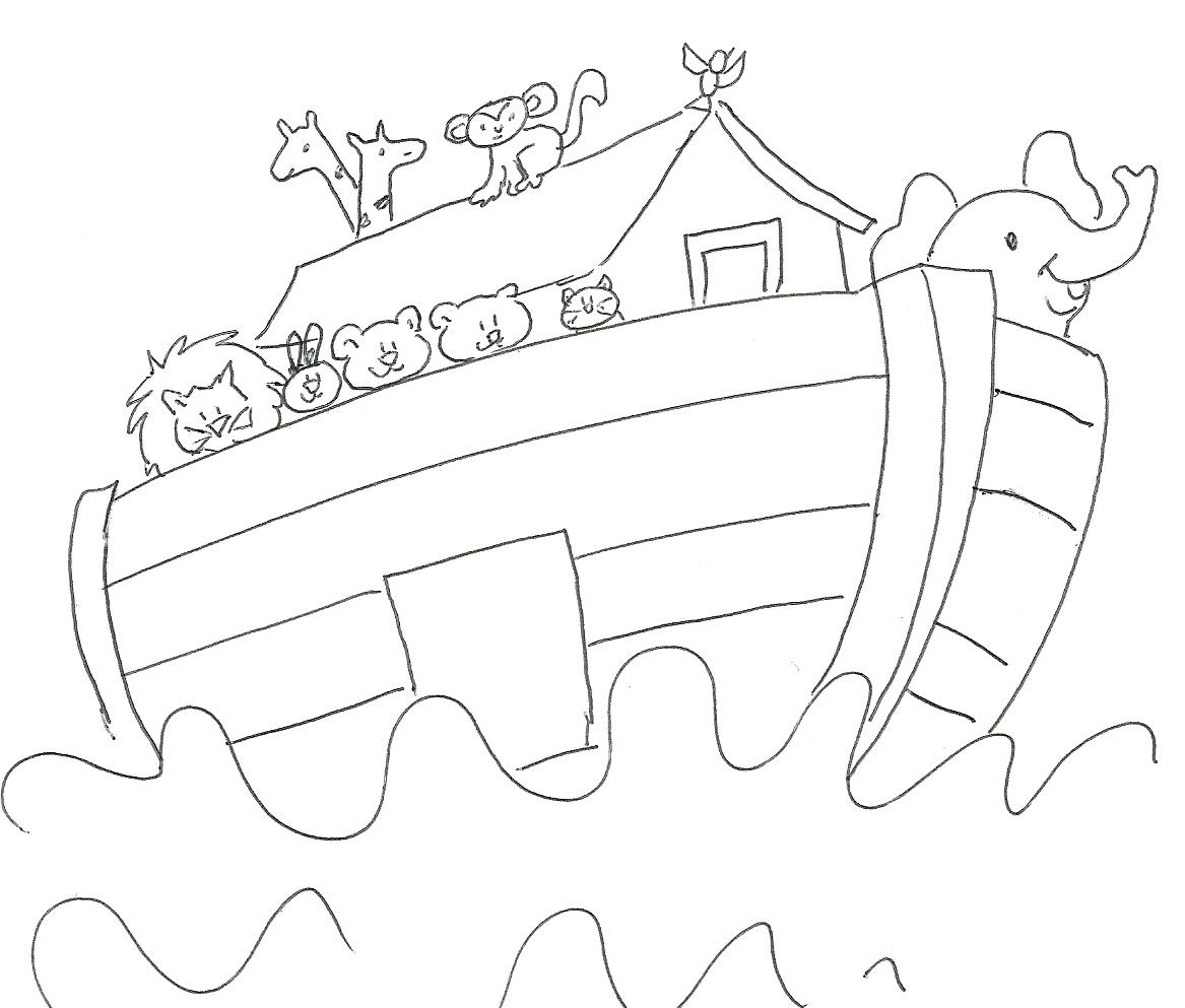 dibujos para imprimir del arca de noe