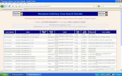 Maryland Judiciary Case Search Criteria
