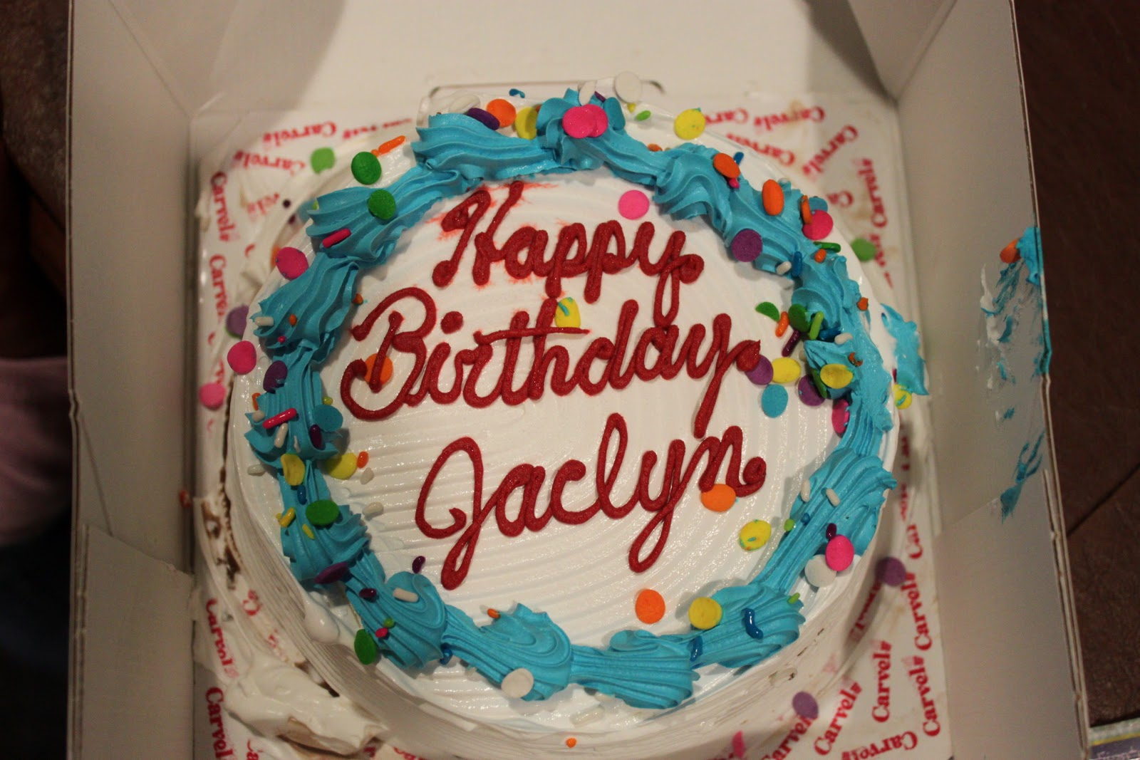 Images Of Happy Birthday Jaclyn Cake