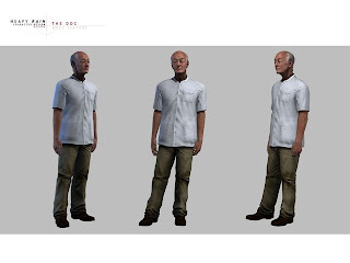 Heavy Rain Character Design: DOC Body Texture
