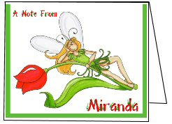 Fairy notecards