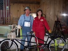 Mark & Lola owners of The Screen Door