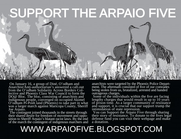 Support the Arpaio Five