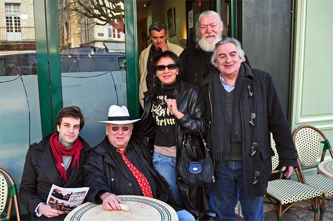 Jonathan Barbot, Alain Bernard, Marie Monset, Maurice Melliet, Christian Dupey