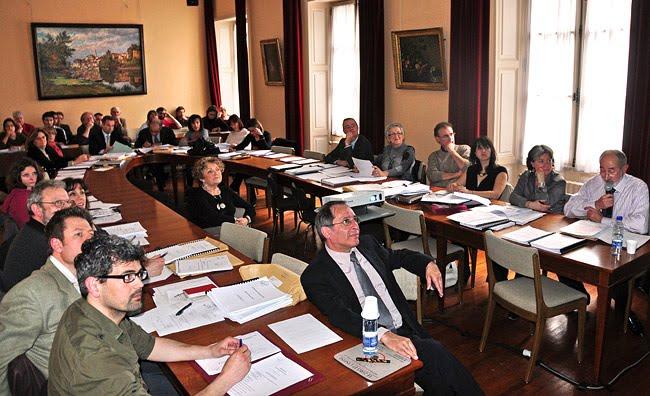 Conseil municipal de Périgueux mars 2010