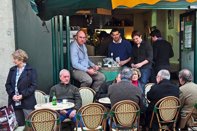 Le Bar de la Truffe sur la place du Coderc à Périgueux