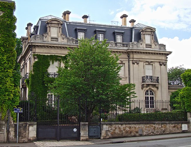 La maison de Patrick de Brou de Laurière à Périgueux
