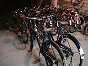 Deretan Basikal Yang Telah dibaik pulih