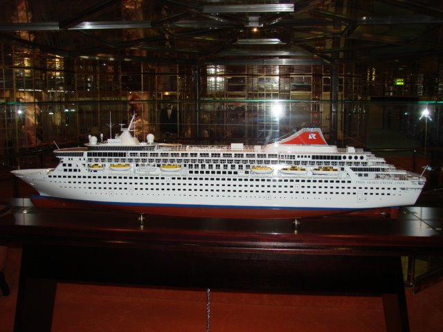 """BALMORAL"" ship Model"