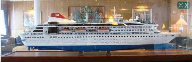 """Braemar"" ship Model"