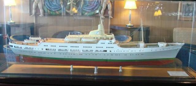 "old ship Model ""Braemar"""