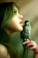 O pássaro e os cabelos