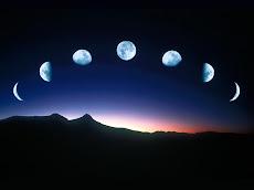 E no céu, sete vezes sete luas brilharam ...