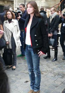 Charlotte Gainsbourg, Défilé Balenciaga