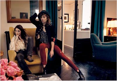 Charlotte Gainsbourg et Lou Doillou