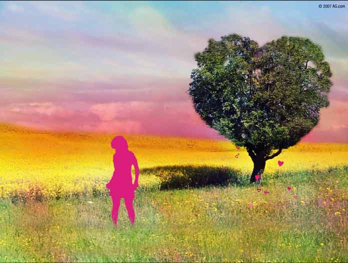 Screentime for flash screen saver blog american greetings love is a whimsical screensaver from american greetings with an ipod like silhouette of a woman strolling through a field of hearts the trees are heart shaped m4hsunfo