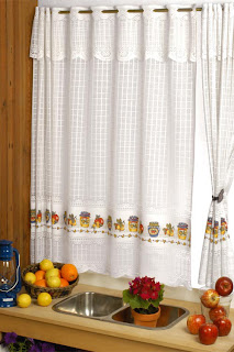 Cortinas cocina decoractual dise o y decoraci n for Guardas para cocina
