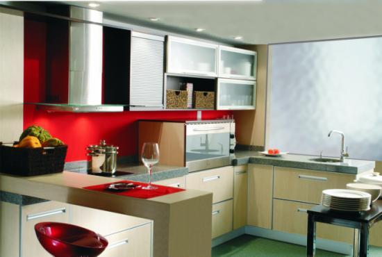 Decoraci n de cocinas muebles de cocina de melamina for Muebles de cocina en melamina modernos