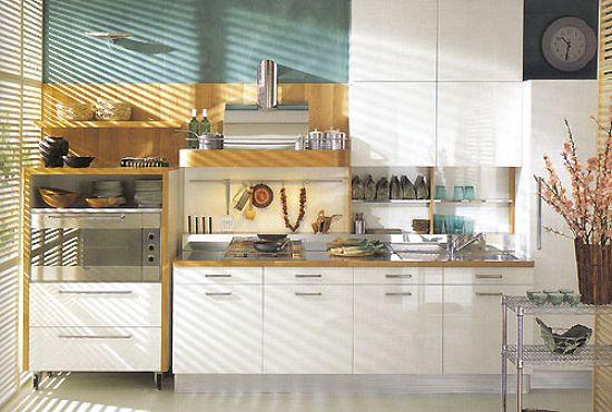 Decoración de cocinas / muebles de cocina de melamina   fotos ...