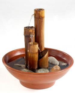 Como hacer una fuente de agua feng shui decoractual - Fuentes de agua de interior ...