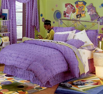 Dormitorios juveniles decoraci n con colores brillantes - Cojines para dormitorios juveniles ...