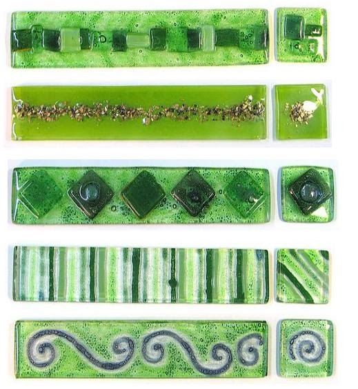 Decoracion De Baño Verde: : GUARDAS EN VITRO PARA BAÑOS- Color Verde/ Modelos exclusivos