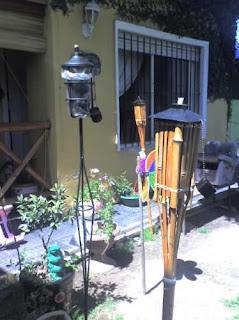 Antorchas para jardin decoraci n e iluminaci n for Antorchas para jardin