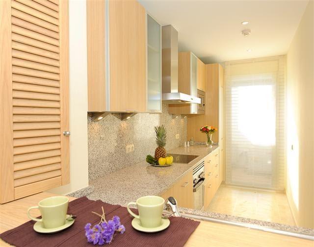 Cocinas peque as modernas y actuales ideas de dise os for Diseno de interiores de cocinas pequenas modernas