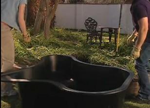 Como realizar un estanque con revestimientos decoraci n - Decoracion de estanques ...