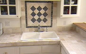 Como colocar losa o cer mica sobre una mesada construcci n video hogar decoraci n y dise o - Losas para cocina ...