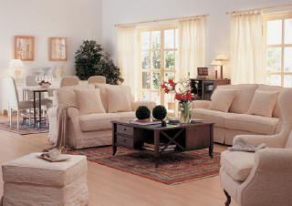 Caso 126 ¿cómo modernizarías este living clásico? Living  - fotos de living con muebles de algarrobo