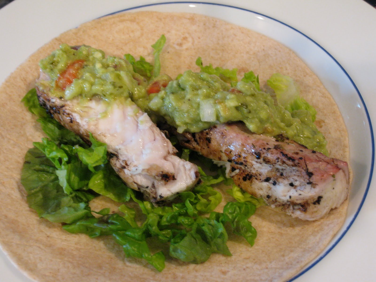 Tequila-Lime Mahimahi Tacos Recipe — Dishmaps