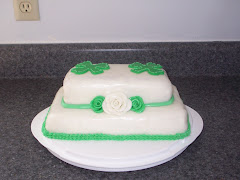Shamrock Cake Front