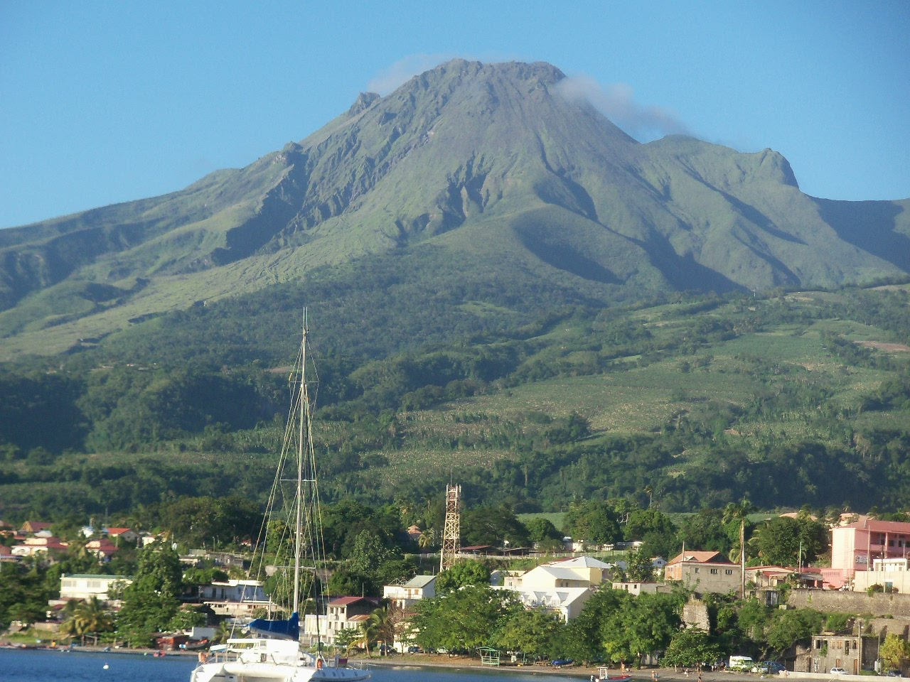 mount pelee Montagne pelée martinique, west indies 1482 n, 6117 w summit elevation  1397 m stratovolcano the 1902 eruption of mt pelée, destroyed the city of st.